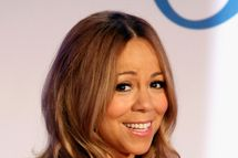 NEW YORK, NY - NOVEMBER 09:  Recording artist Mariah Carey speaks during a press conference to announce that she is the new Jenny Craig Brand Ambassador at Four Seasons Hotel New York on November 9, 2011 in New York City.  (Photo by Cindy Ord/Getty Images)