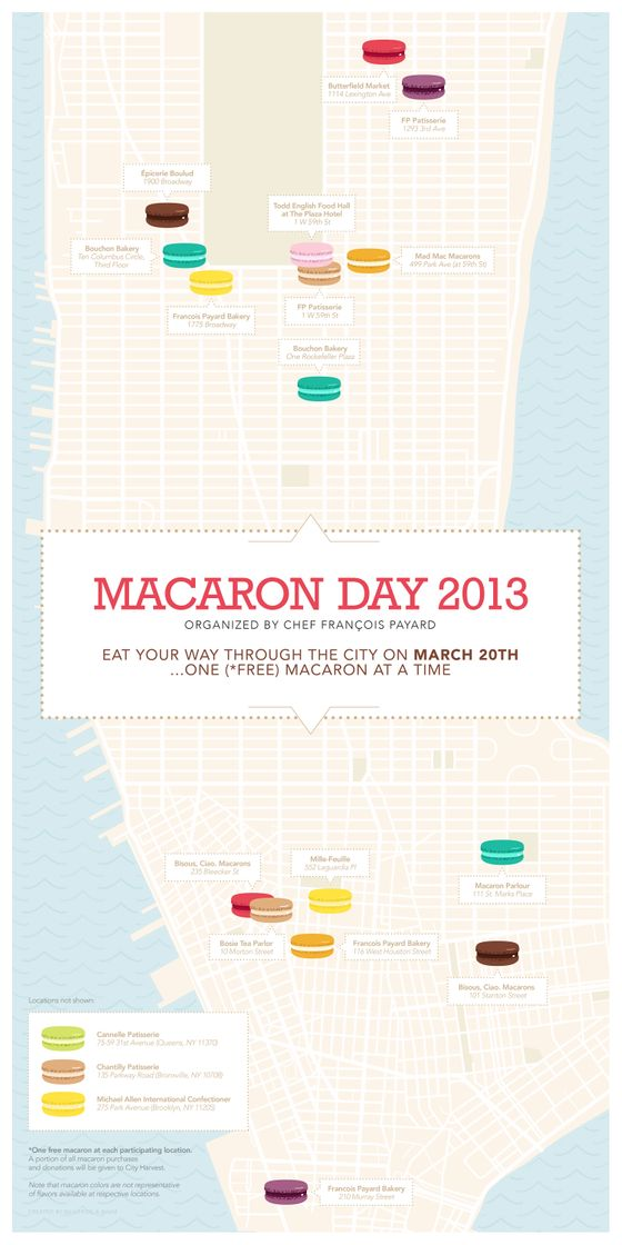 Macaroon Map Day 2013 map tout