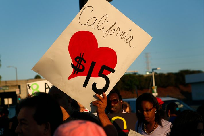 Fast-Food Strikes in 50 U.S. Cities Seeking $15 Per Hour