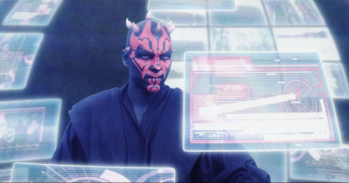 This Fan-Made Darth Maul Origin Story Is Better Than The Phantom Menance, As Most Things Are