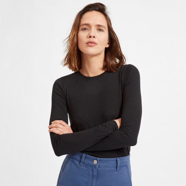 Everlane Pima Stretch Long Sleeve