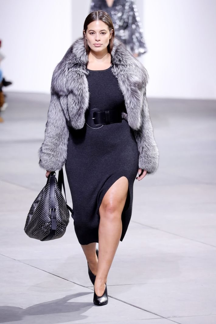 Ashley Graham Walked The Michael Kors Show