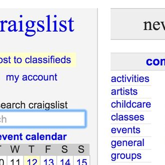 What You Can Learn From 10,000 Craigslist Missed Connections