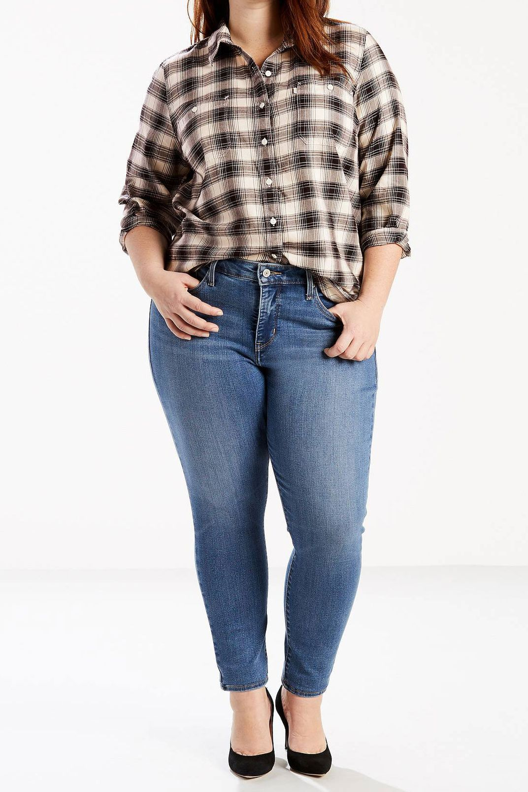 Levi 310 Shaping Super Skinny Jeans (Plus)