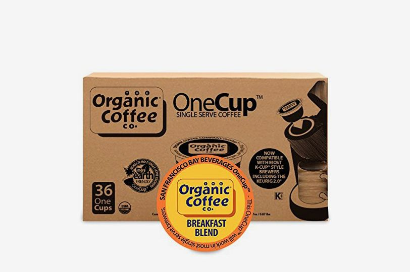 Organic Coffee Co. OneCup Breakfast Blend (36 Count)