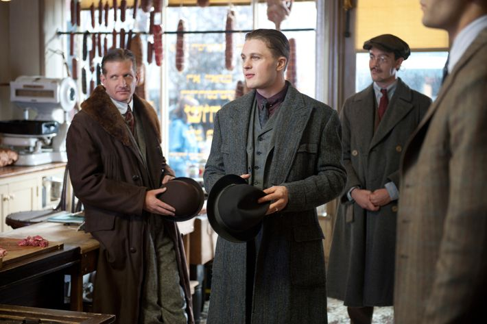 BOARDWALK EMPIRE episode 16 (season 2, episode 4): Paul Sparks, Michael Pitt, Jack Huston. photo: Macall B. Polay