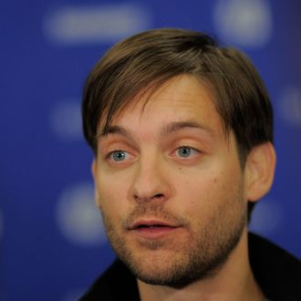 Actor Tobey Maguire attends
