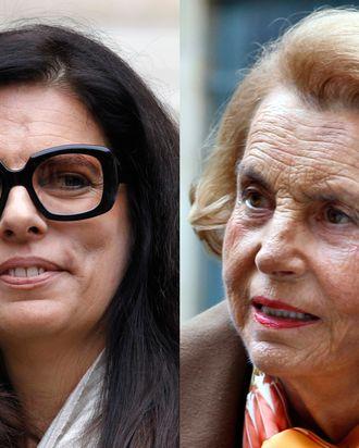 Françoise Bettencourt-Meyers and Liliane Bettencourt.