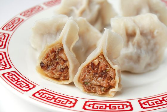 Duck-filled dumplings from Dumpling Galaxy