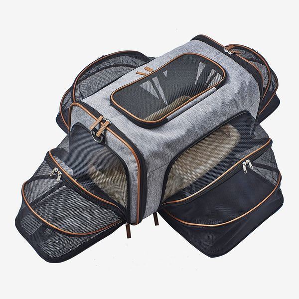 Pet Peppy Premium Airline Approved Expandable Pet Carrier