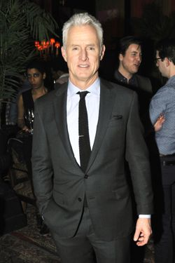 John Slattery==GQ and JOHN SLATTERY Celebrate the Launch of the April 2012 Issue==The Jane Hotel, NYC==March 12, 2012==©Patrick McMullan==Photo-JONATHON ZIEGLER/PatrickMcMullan.com====