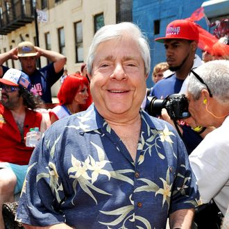 Brooklyn Borough President Marty Markowitz attends the 2013 Mermaid Parade at Coney Island on June 22, 2013 in New York City.