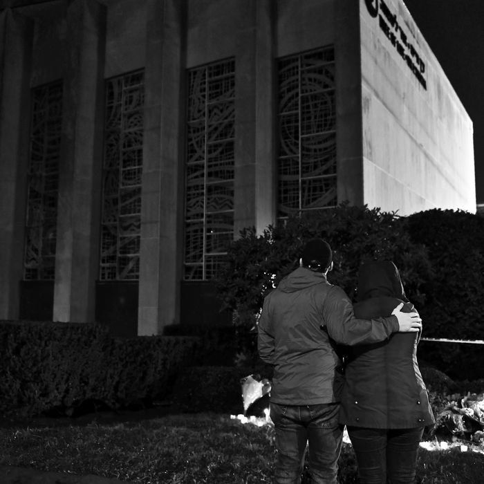 Tree of Life Synagogue in Pittsburgh, Pennsylvania.