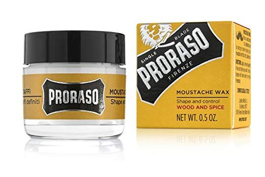 Proraso Mustache Wax, 0.5 Ounce