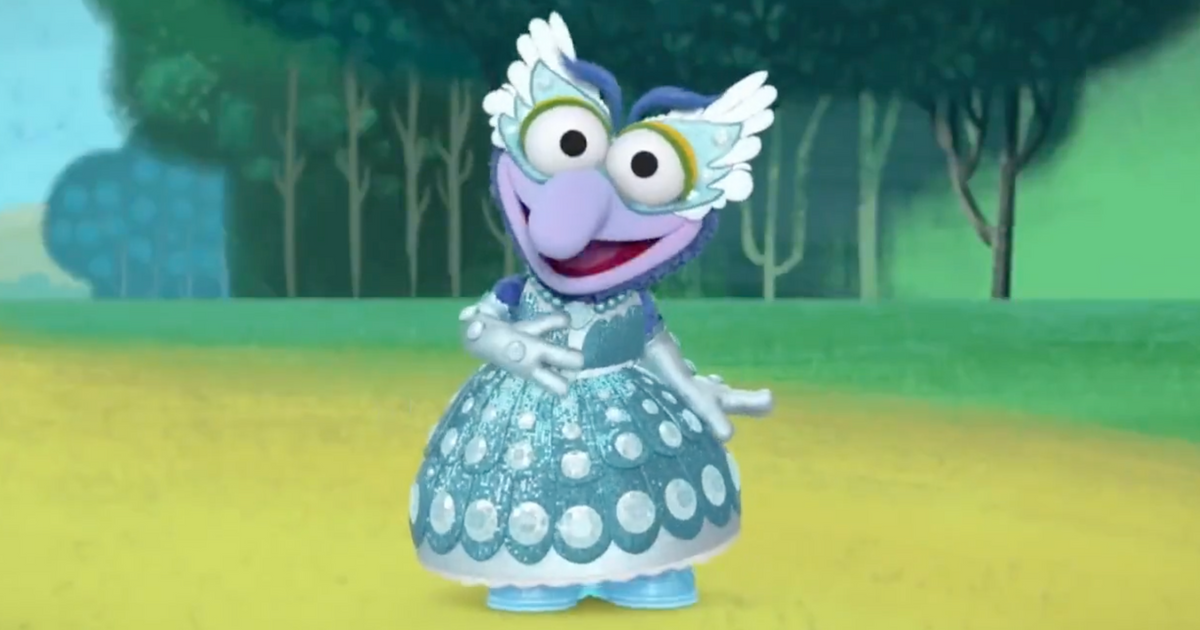 Muppet Babies' Gonzo-rella Is the Cutest Disney Princess