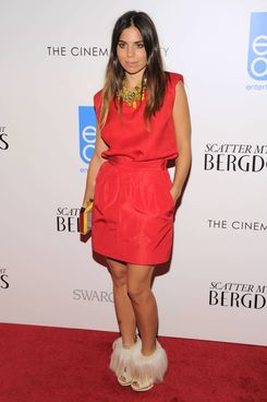 "Ally Hilfiger==THE CINEMA SOCIETY with SWAROVSKI & GREY GOOSE host the premiere of eOne Entertainment's ""SCATTER MY ASHES AT BERGDORF GOODMAN""==Florence Gould Hall, NYC==April 29, 2013."