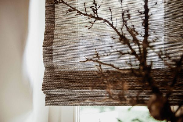 Waterfall Woven Wood Shade
