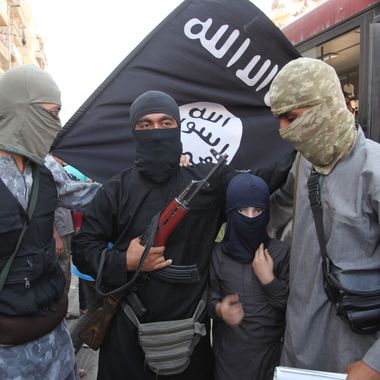 Fightesr from the Islamic State of Iraq and the Levant) and Syria
