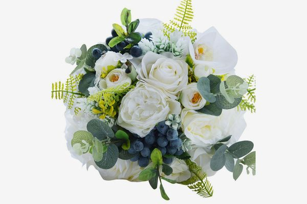 Abbie Home Bride Fabric Flower Bouquets