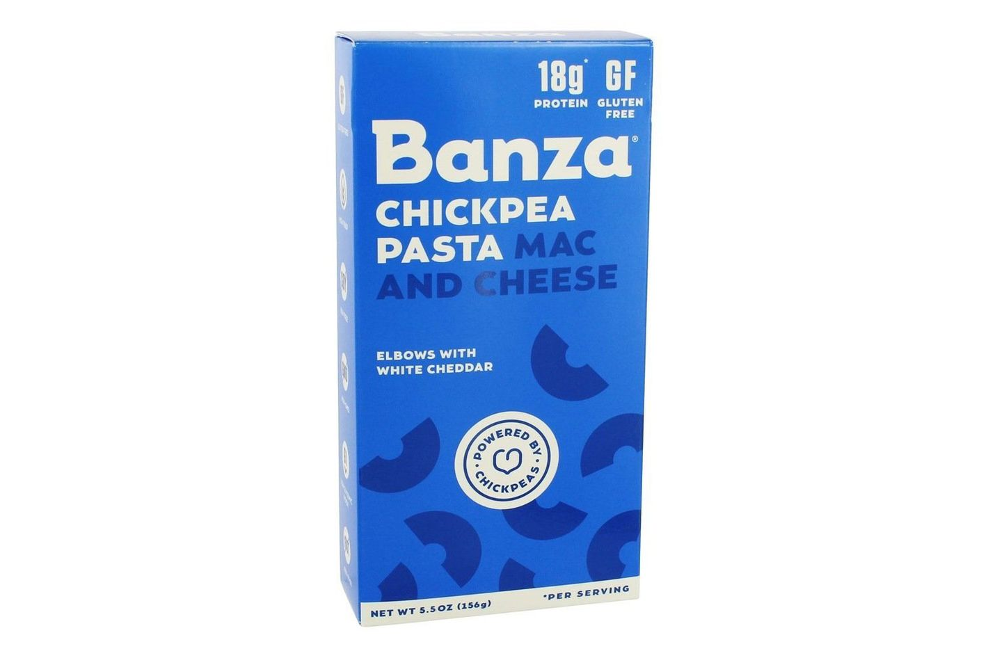 Banza Chickpea Pasta Mac & Cheese Elbows with White Cheddar