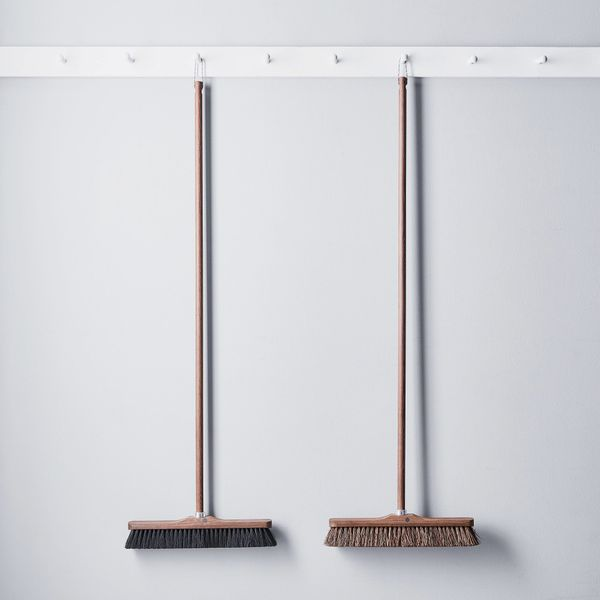 Andrée Jardin Vintage-Inspired French Exterior Ash Wood Broom