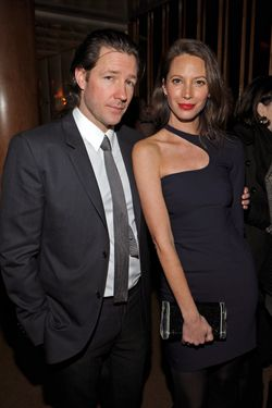 "NEW YORK - MARCH 05:  Edward Burns and Christy Turlington attend the after party for the Cinema Society & People StyleWatch with Grey Goose screening of ""Friends With Kids"" at the The Top of The Standard on March 5, 2012 in New York City.  (Photo by Larry Busacca/Getty Images)"