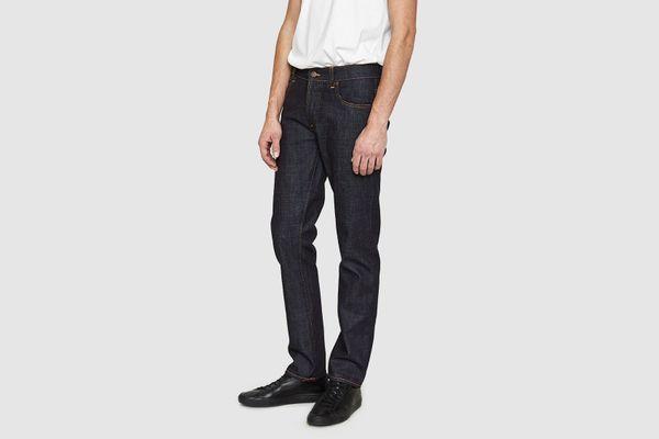 Nudie Jeans Dude Dan Dry Comfort Dark Denim