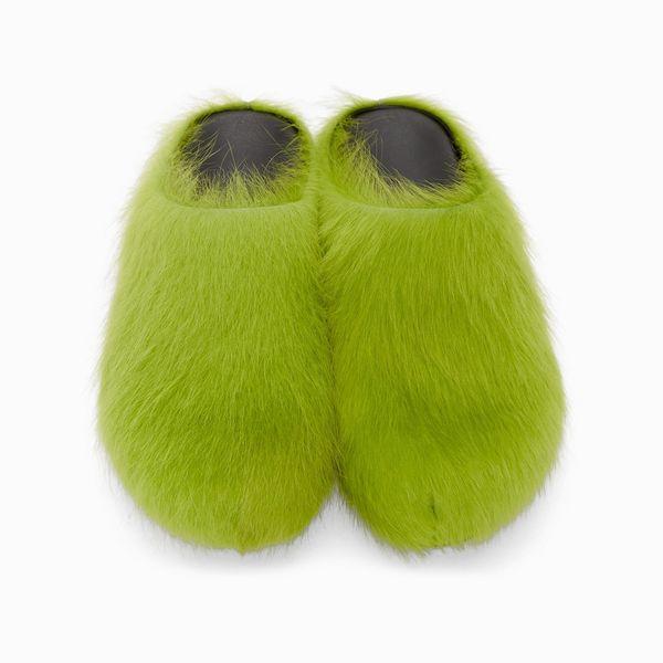 Marni Calf-Hair Loafers