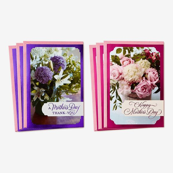 Hallmark Mothers Day Card Assortment, Mother's Day Thank You (6 Cards with Envelopes)