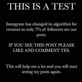 Instagram Did Not Change Its Algorithm