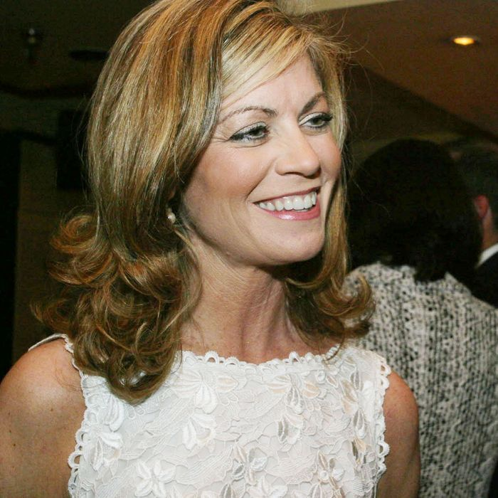 Laurie Luhn at the Fox News 10th Anniversary Reception at Cafe Milano, Georgetown, April 26, 2006.