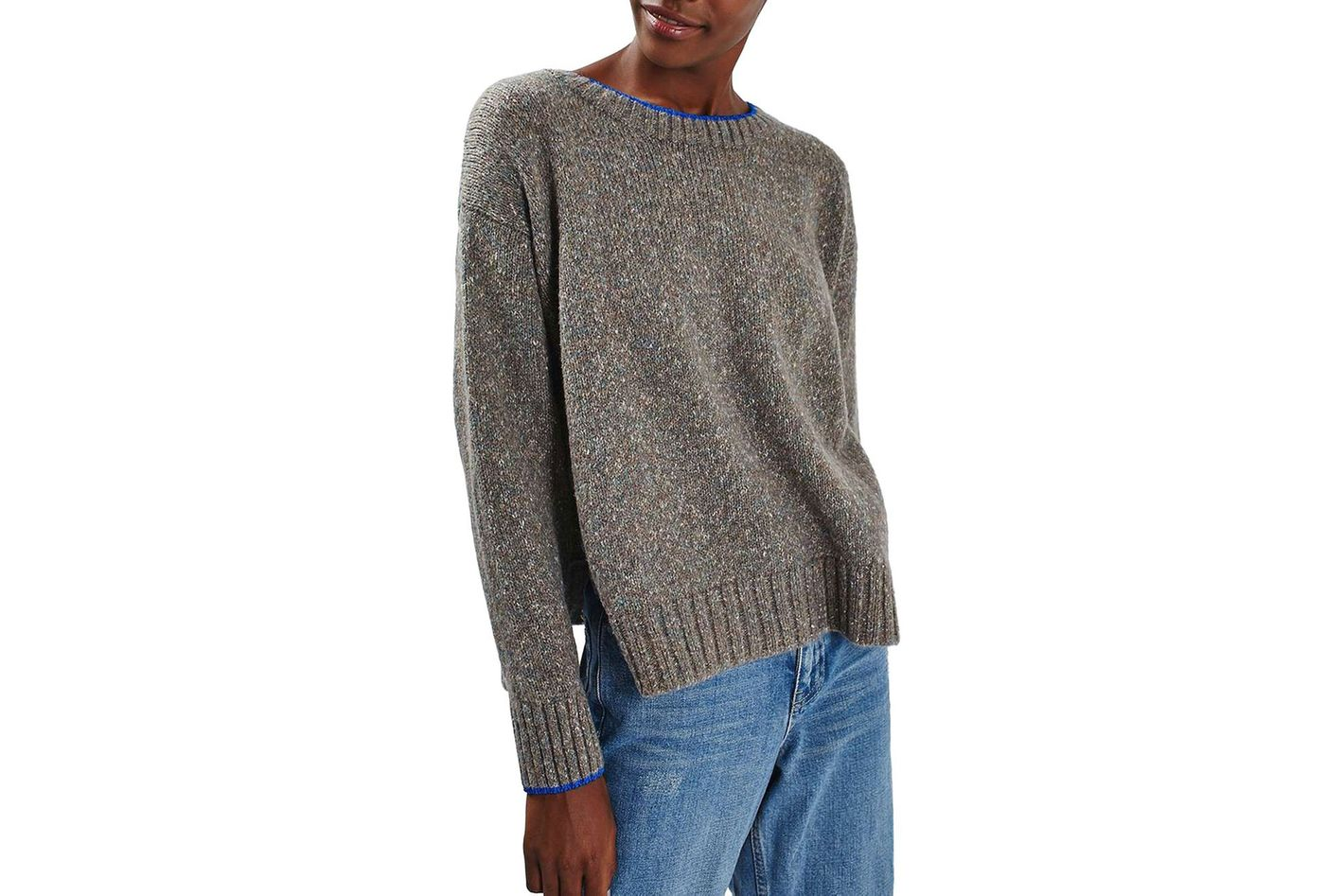 Topshop Marled Sweater