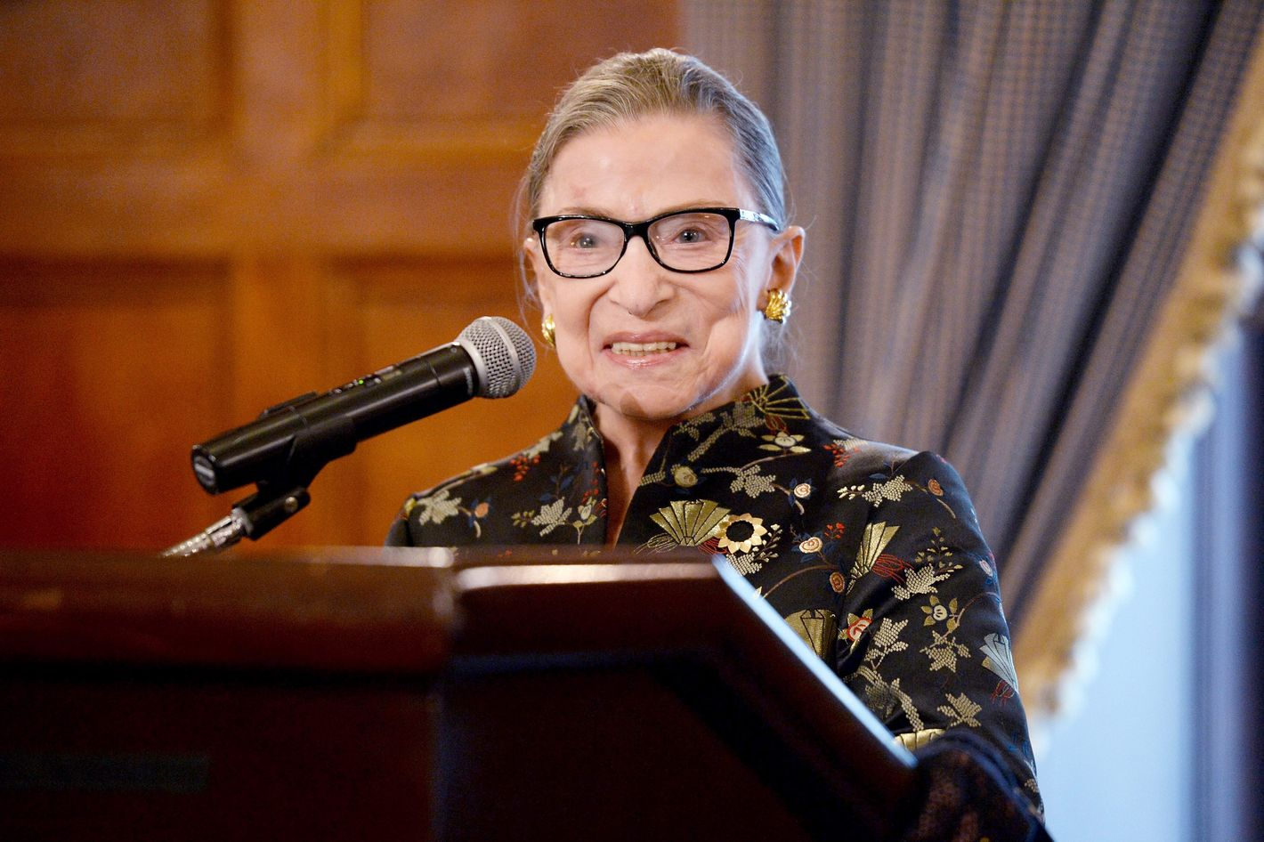 Ruth Bader Ginsburg Can Probably Do More Push-ups Than You