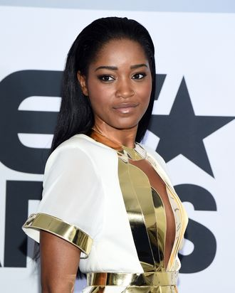 LOS ANGELES, CA - JUNE 29: Actress Keke Palmer poses in the press room during the BET AWARDS '14 at Nokia Theatre L.A. LIVE on June 29, 2014 in Los Angeles, California. (Photo by Michael Buckner/Getty Images for BET)
