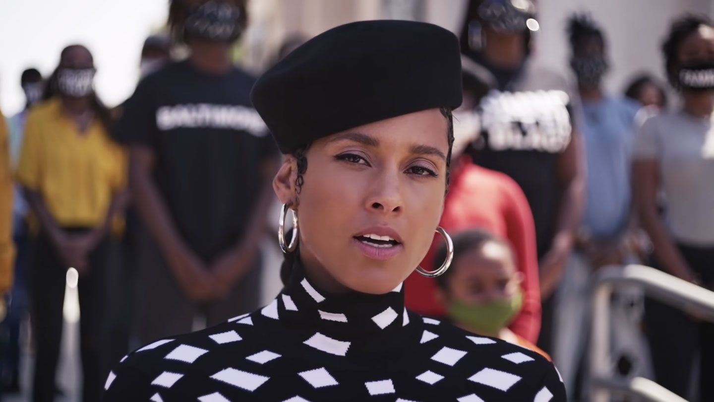 Watch Alicia Keys Lift Every Voice And Sing Super Bowl Spot