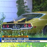 Someone Stole Papa John's Beloved Camaro
