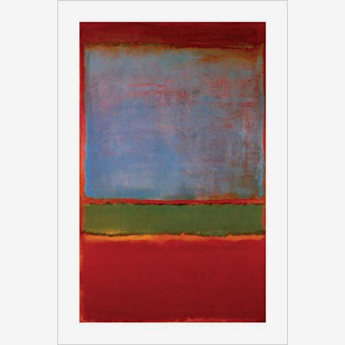 Buy Art For Less Violet Green and Red, 1951 no 6 by Mark Rothko 36x24 Art Print Poster