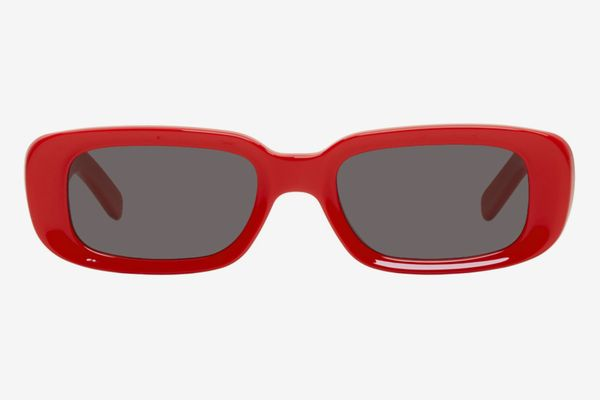 Off-White Red Sunglasses