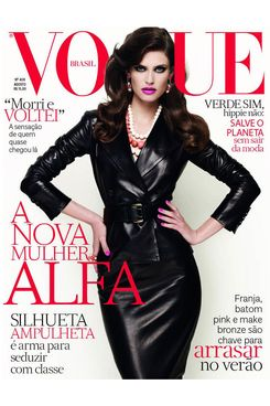 Bianca Balti for Brazilian <em>Vogue</em>.