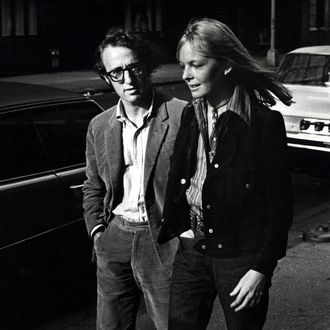 Woody Allen and Diane Keaton (Photo by Ron Galella/WireImage)
