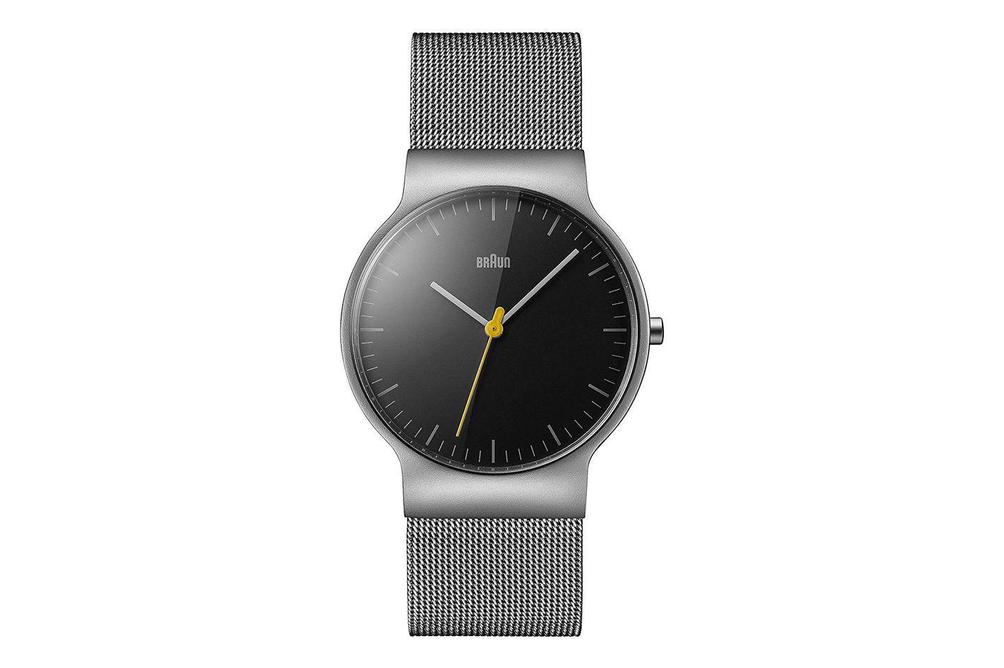 Braun Men's Slim Silver Watch