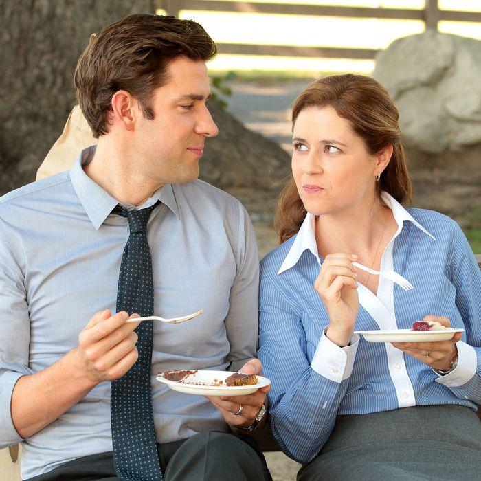 Lunch breaks: a great time to flirt.