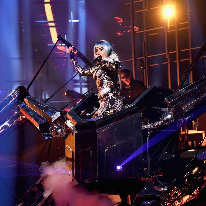 Lady Gaga Is Reborn as a Las Vegas Robot Wrangler