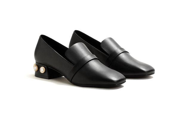 Mango Applique Loafers