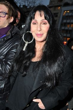 Cher arrives at Gareth Pugh.