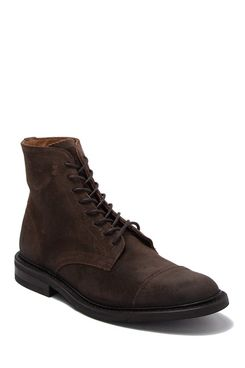 Frye Seth Leather Lace-Up Boot