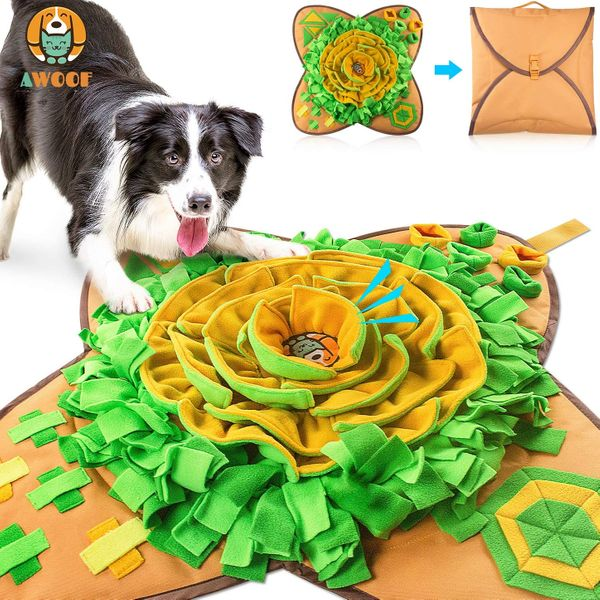 AWOOF Snuffle Mat Pet Dog Feeding Mat