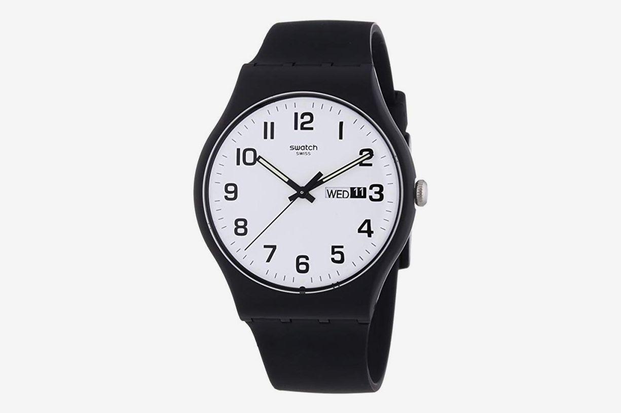 Swatch Twice Again White Dial Quartz Watch