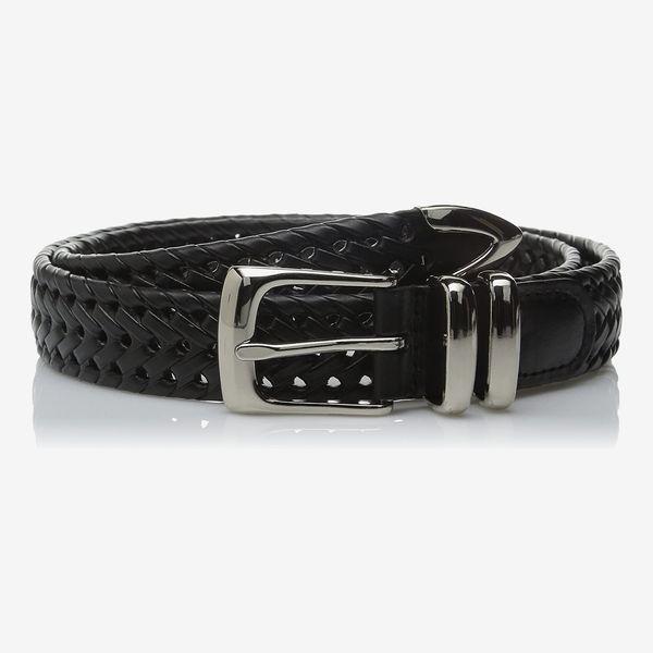 Perry Ellis Portfolio Braided Belt