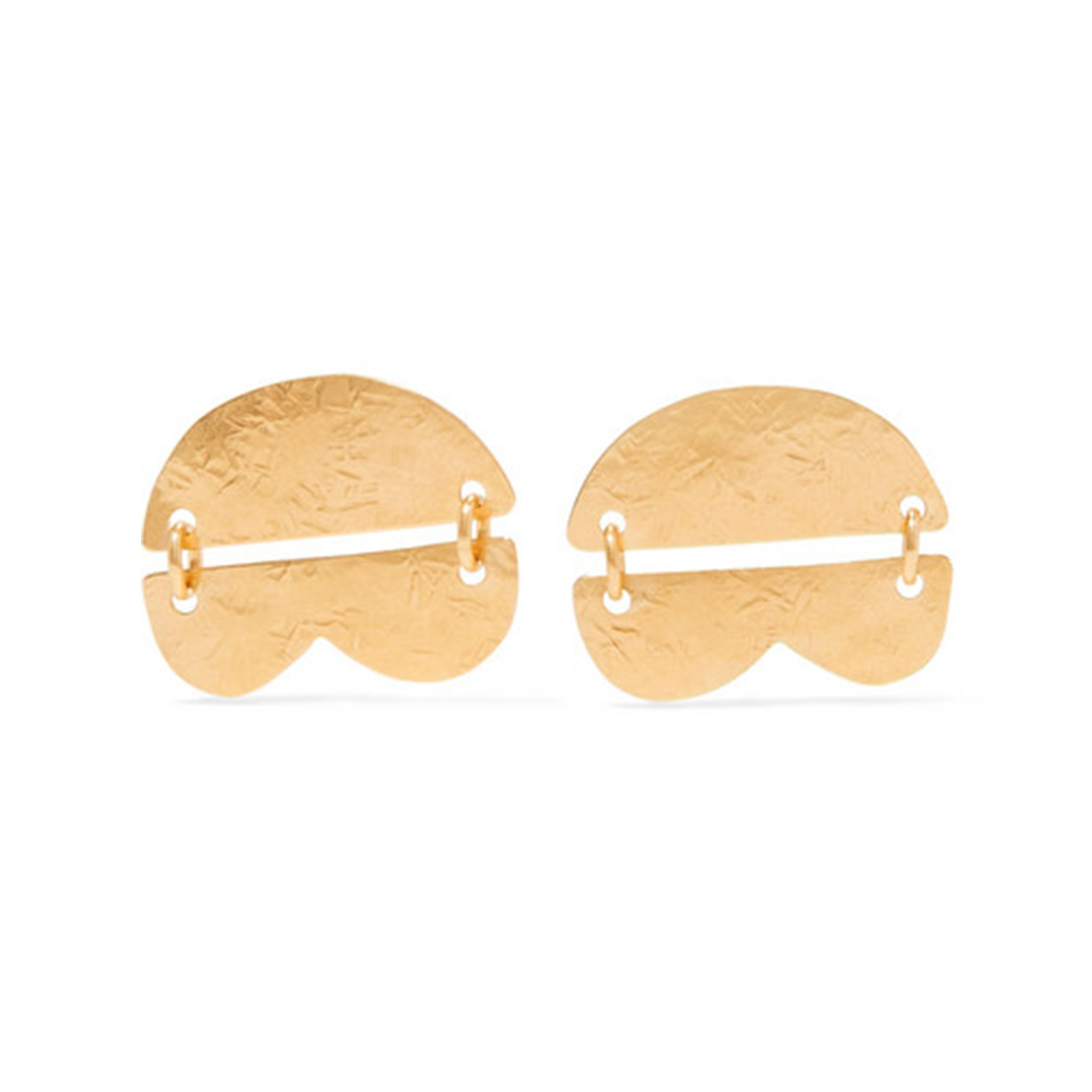 Dova gold-tone earrings